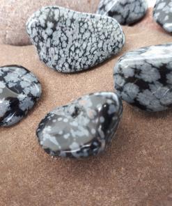 אבן חן אובסידיאן סנופלייק