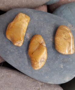 אבן חן ג'ספר צהוב