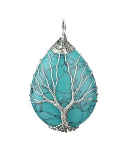תליון עץ החיים טורקיז
