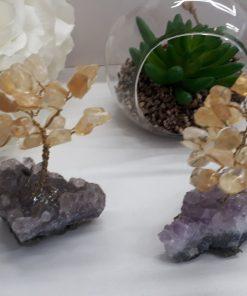 עץ קריסטל סיטרין שפע