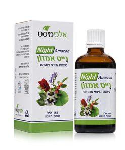 צמחי מרפא לשינה טובה / צמחי מרפא לנדודי שינה. נייט אמזון