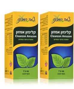 קלינזון אמזון במבצע - פורמולת צמחי מרפא לניקוי רעלים