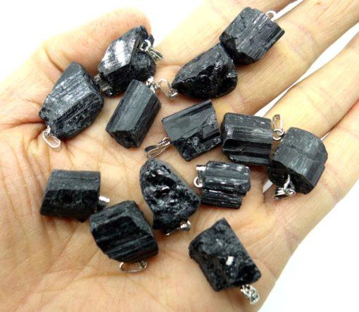 תליון טורמלין שחור / תכשיטים טורמלין שחור