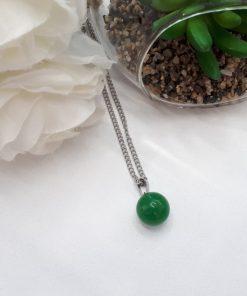 תליון כדור ג'ייד ירוק לפירוש חלומות
